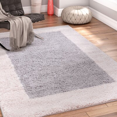 Dondre Gray Indoor Area Rug Rug Size: 67 x 910