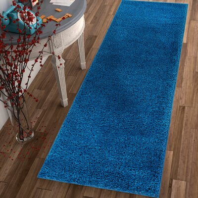 Dondre Dark Blue Indoor Area Rug Rug Size: 5 x 72