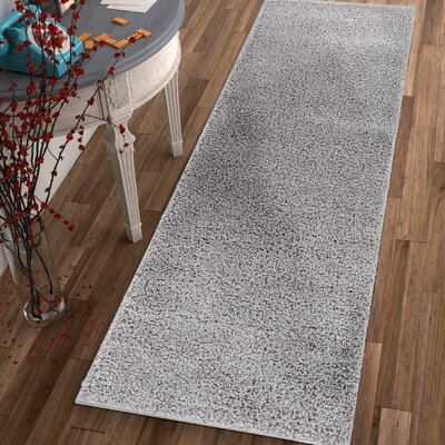 Dondre Gray Indoor Area Rug Rug Size: Runner 2 x 73