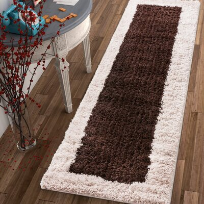 Dondre Brown Indoor Area Rug Rug Size: 5 x 72