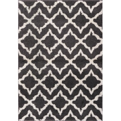 Walraven Gray/Gold Indoor Area Rug Rug Size: 67 x 910