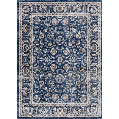 Abramowitz Blue Area Rug Rug Size: 23 x 311