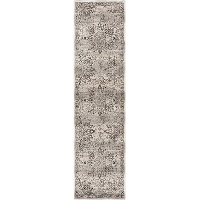 Abramowitz Gray Area Rug Rug Size: Runner 27 x 91