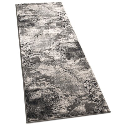 Emmi Gray Area Rug Rug Size: Runner 23 x 77
