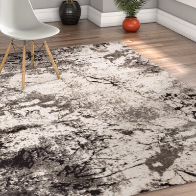 Emmi Gray Area Rug Rug Size: 710 x 106