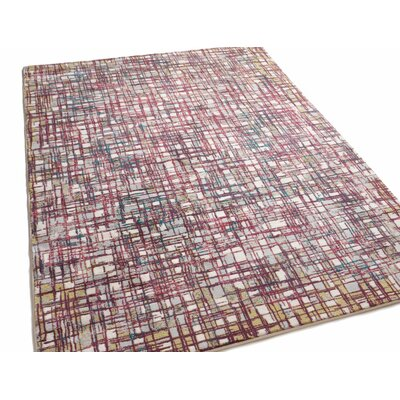 Highlawn Plaid Checkered Purple/Pink Area Rug Rug Size: Rectangle 710 x 106