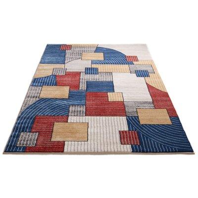 Devanna Mid-Century Modern Geometric Area Rug Rug Size: 311 x 53