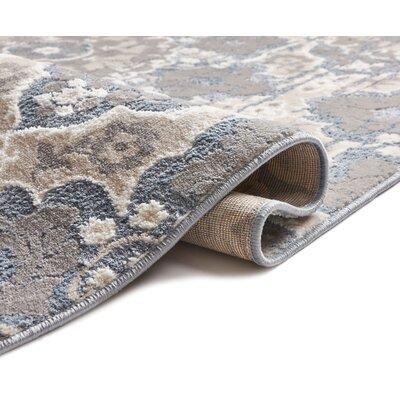 Blumenthal Soft Vintage Blue/Gray Area Rug Rug Size: 710 x 910