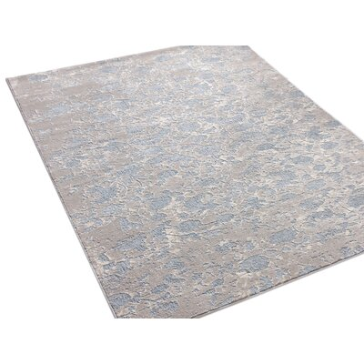 Emmett Vintage Blue/Gray Area Rug Rug Size: Rectangle 311 x 53