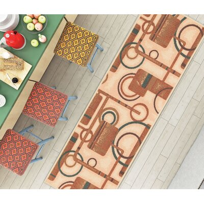Kings Court Natural Prescott Rug Rug Size: Runner 2 x 61