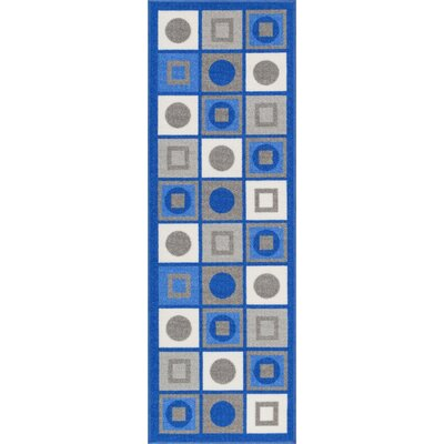 Covey Blue Area Rug Rug Size: Runner 2 x 7