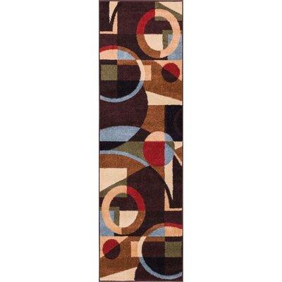 Sydney Beverly Black Area Rug Rug Size: Runner 23 x 73