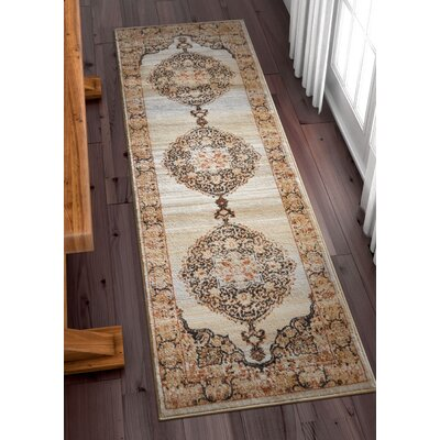 Coalgate Contemporary Red Area Rug Rug Size: Runner 23 x 73