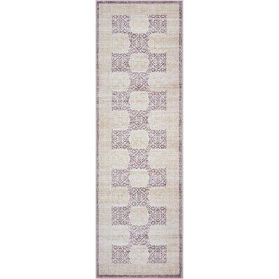 Carwill Lavender Area Rug Rug Size: 53 x 73