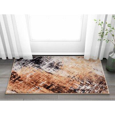 Anastacia Copper Area Rug Rug Size: 23 x 311