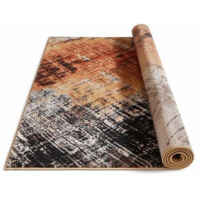 Anastacia Copper Area Rug Rug Size: 710 x 106