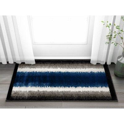 Rethman Blue Area Rug Rug Size: 23 x 311