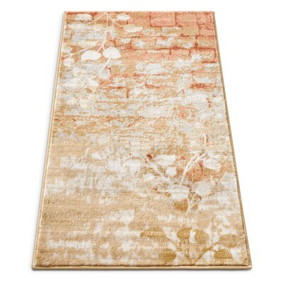 Coalgate Orange Copper Area Rug Rug Size: 23 x 311