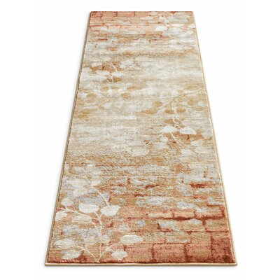 Coalgate Orange Copper Area Rug Rug Size: 710 x 106