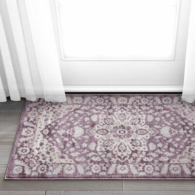 Coalgate Lavender Area Rug Rug Size: 23 x 311