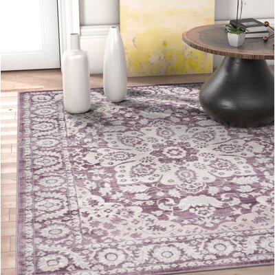 Coalgate Lavender Area Rug Rug Size: 710 x 106
