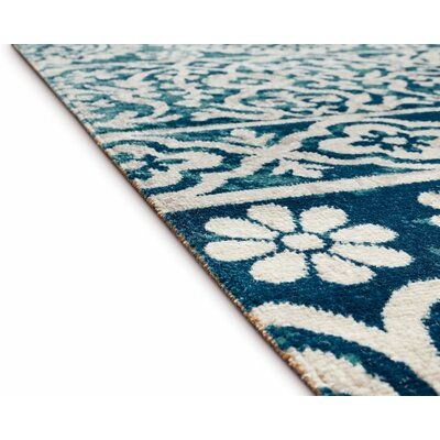 Juliana Dorothea Meditarrien Tile Work Jute Area Rug Rug Size: Rectangle 53 x 73
