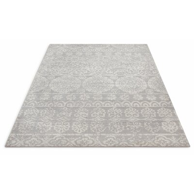 Juliana Cannes Medallion Gray Area Rug Rug Size: Rectangle 53 x 73