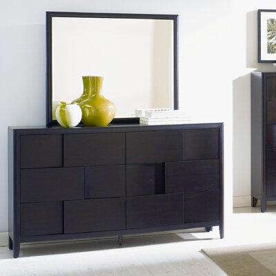 Nova 6 Drawer Dresser with Mirror