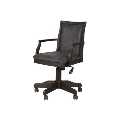 Barnhardt Fully Desk Chair with Casters Product Photo 1163