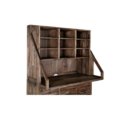 Adler 40.5 H x 53 W Desk Open Secretary Hutch Product Image 1030