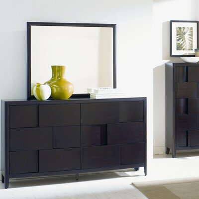 Nova 6 Drawer Dresser with Mirror
