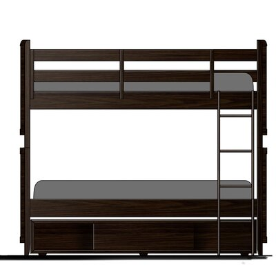 Twilight Storage Panel Bed