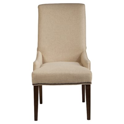Rothman Warm Stained Upholstered Chairs (Set of 2)