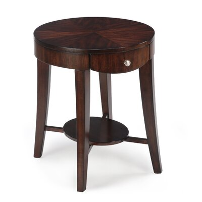 Cheap Magnussen Aster End Table in Hazelnut (ME3288)