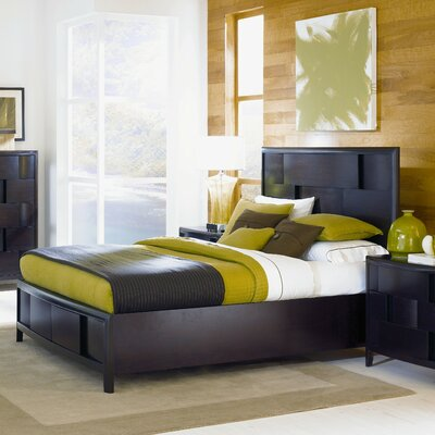 Nova California King Upholstered Panel Bed