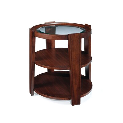 Cheap Magnussen Nuvo Oval End Table in Umber (ME3694)