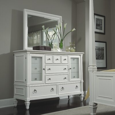 Ashby 11 Drawer Combo Dresser with Mirror