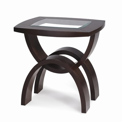 Cheap Magnussen Helix Rectangle End Table in Hazelnut (ME3625)
