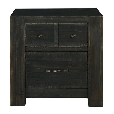 Natesha 2 Drawer Nightstand