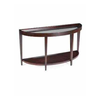 Cheap Magnussen Carson Demilune Sofa Desk Table in Sienna (ME3872)