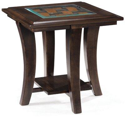 Cheap Magnussen Tivoli Rectangular End Table in Hazelnut (ME3994)
