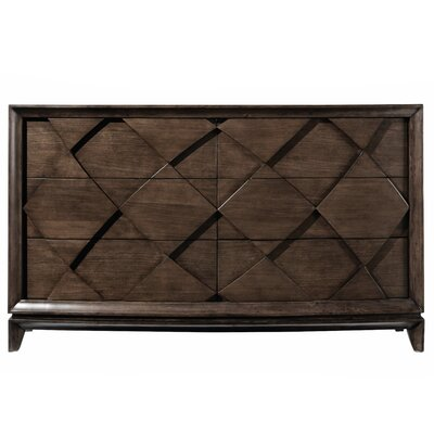 Francena 6 Drawer Double Dresser