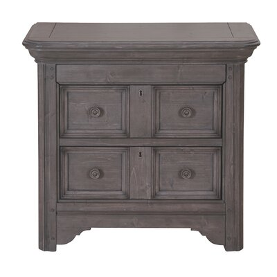 Cacia Drawer Nightstand