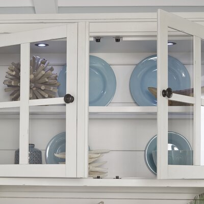 Aurora Lighted China Cabinet Top