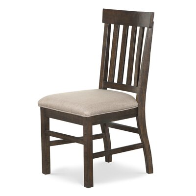 Moyeda Traditional Upholstered Dining Chair (Set of 2)