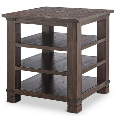 Pine Brook Hill Ridge Wood End Table