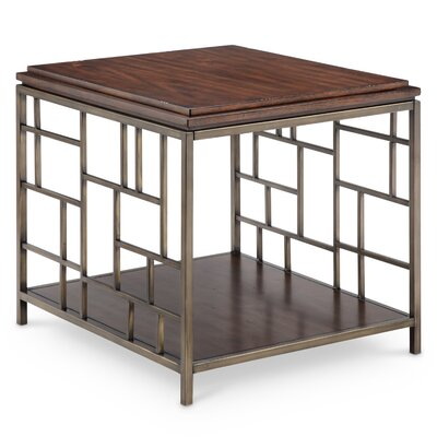 Falk Modern Rectangular End Table