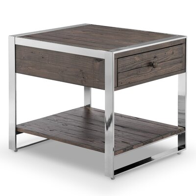 Cratylus Modern Rectangular End Table
