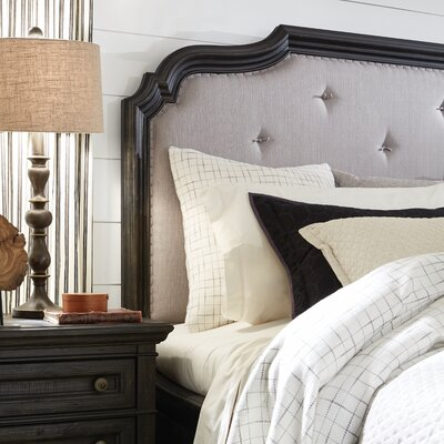 Alona Upholstered Panel Headboard Size: King