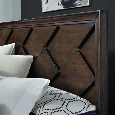 Francena Panel Headboard Size: King